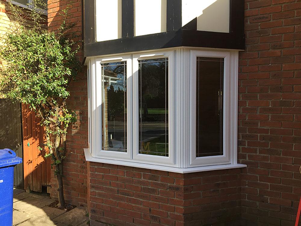 brickwork and window installation